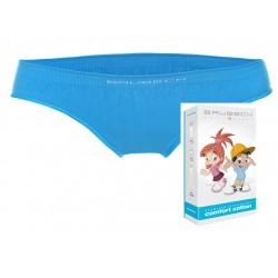 Bezszwowe majtki dla dziewczynki Brubeck HI10140 niebieskie