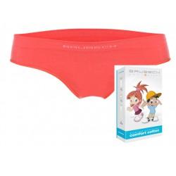 Bezszwowe majtki dla dziewczynki Brubeck HI10140 koralowe