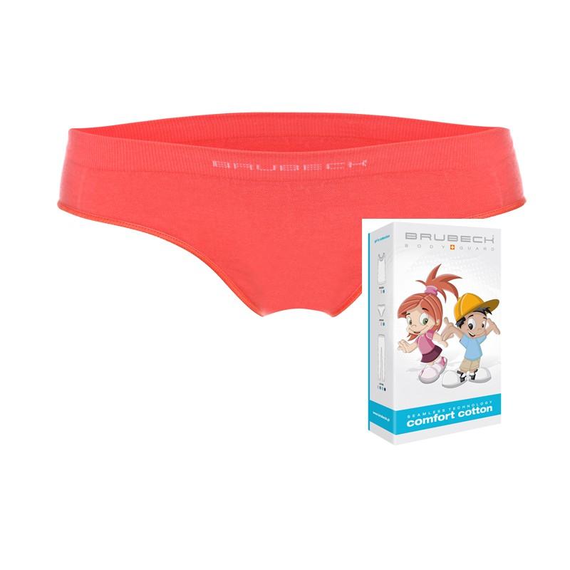 Termoaktywne majteczki dla dziewczynki Brubeck HI10140 koralowe