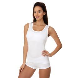 Termoaktywny bezrękawnik damski Brubeck TA00510A biały