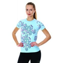 Damska koszulka do biegania Brubeck SS13250A niebieska