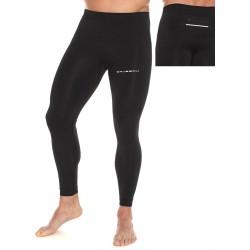 Spodnie sportowe z kieszonką Brubecl LE11460A czarne