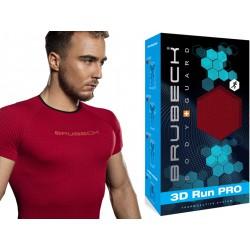 Koszulka do biegania męska Brubeck SS11920 czerwona