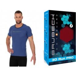 Koszulka do biegania męska Brubeck SS11920 ciemnoniebieska