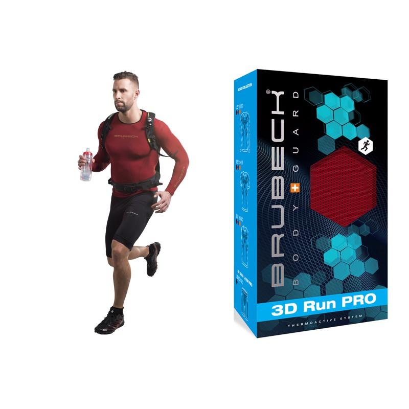 Bluza termoaktywna do biegania Brubeck LS13000 czerwona