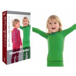 Bluza termoaktywna chłopięca Brubeck LS13660 zielona