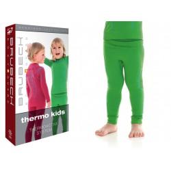 Kalesony termiczne dla chłopca Brubeck LE12100 zielone