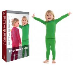 Bielizna termiczna dla dzieci Brubeck Termo komplet zielony