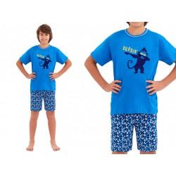 Chłopięca piżama 146 cm BAWEŁNIANA Taro Damian