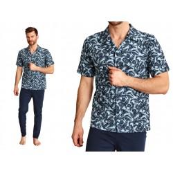 Polska piżama na guziki Taro Gracjan XL