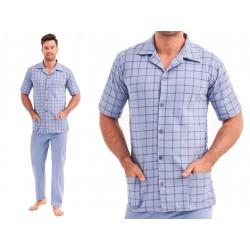 koszulowa piżama męska Taro Gracjan rozmiar XL