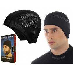 Brubeck Active Hat treningowa czapka termoaktywna L/XL