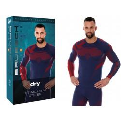 Oddychająca koszulka termoaktywna męska S-ka
