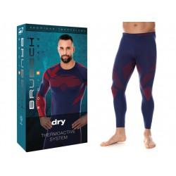 Spodnie getry dla piłkarzy Termiczne Brubeck M